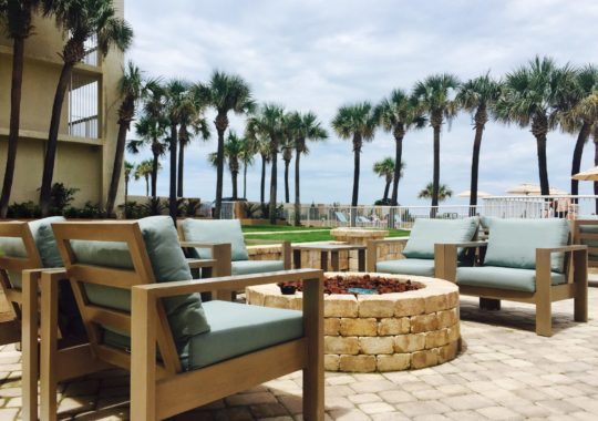 Pull Up a Spot Right on the Beach at the Holiday Inn Hotel & Suites Daytona Beach!