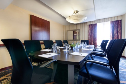 Boardroom at Radisson Hotel JFK Airport