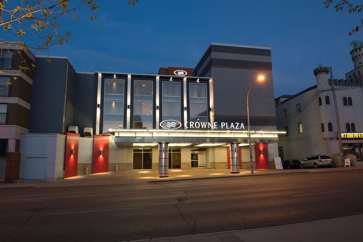 The Crowne Plaza Kitchener-Waterloo at your fingertips