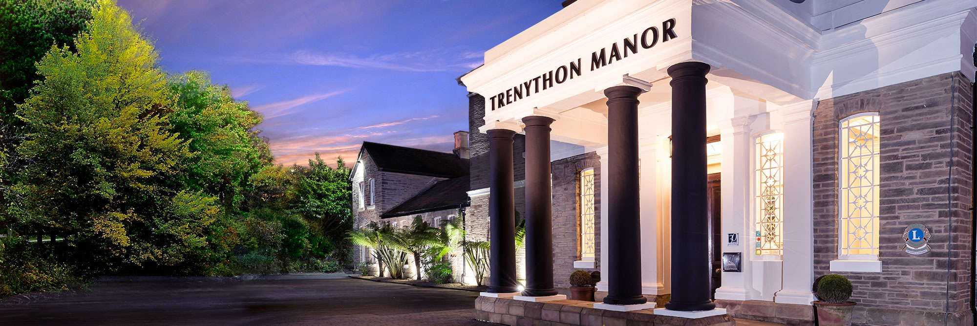 Grand Elegance is Yours at Trenython Manor