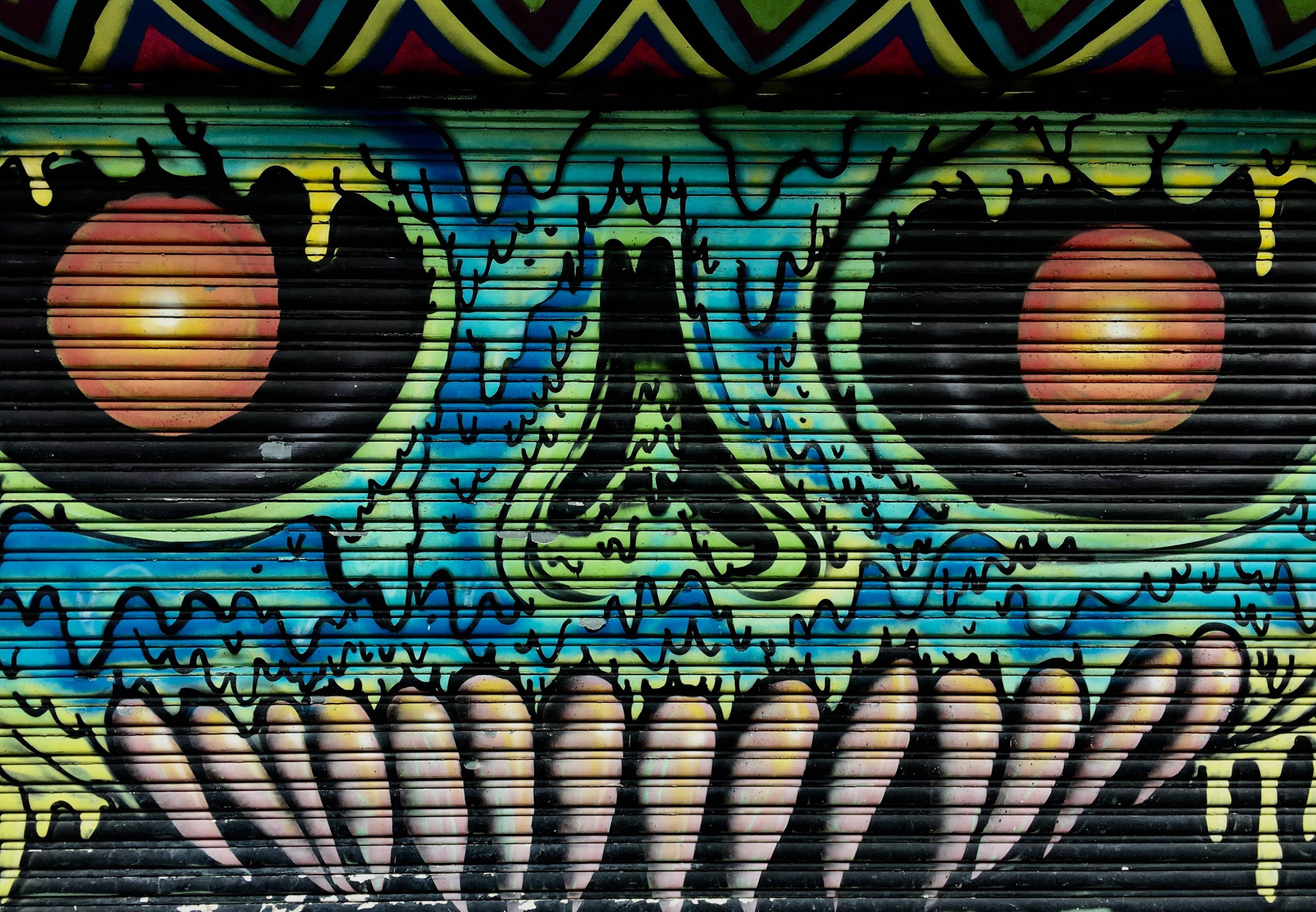 Street Art in Rio Piedras Puerto Rico