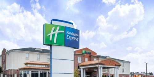 Holiday Inn Express & Suites Bremen entrance