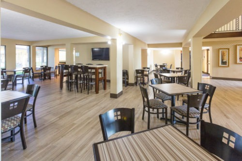 Daytona beach best western breakfast area