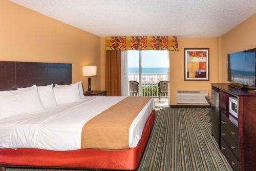 Best Western Castillo Del Sol in Ormond Beach king room
