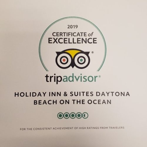 Discover 'Excellent Every Day Every Time' at TripAdvisor Award-Winning Holiday Inn & Suites Daytona Beach on the Ocean